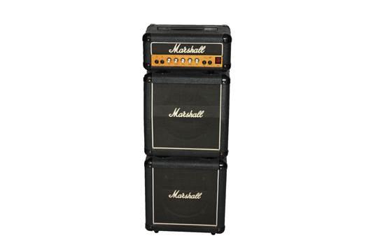 A MARSHALL LEAD 12, 3005 MINI STACK GUITAR AMP, CIRCA 1990
