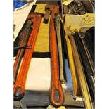 48'' & 24'' Pipe Wrenches