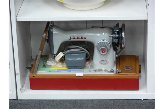 dating jones sewing machines