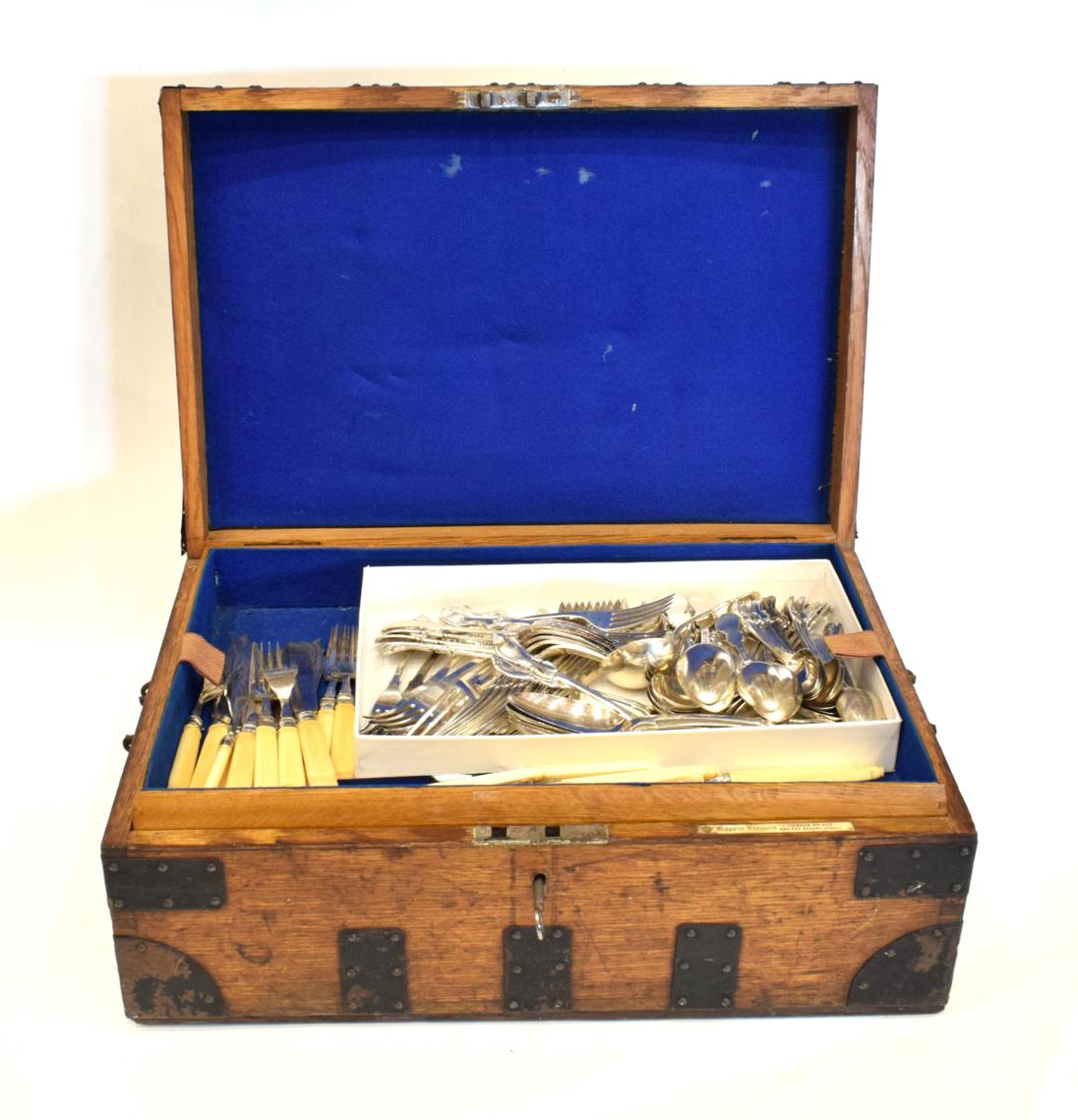 Lot 49 - A Victorian Silver Part Table-Service, by John James Whiting, London, 1843, 1844, 1854 and 1855,