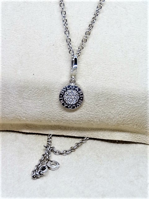 Authentic BVLGARI Necklace / Pendant with Box and papers