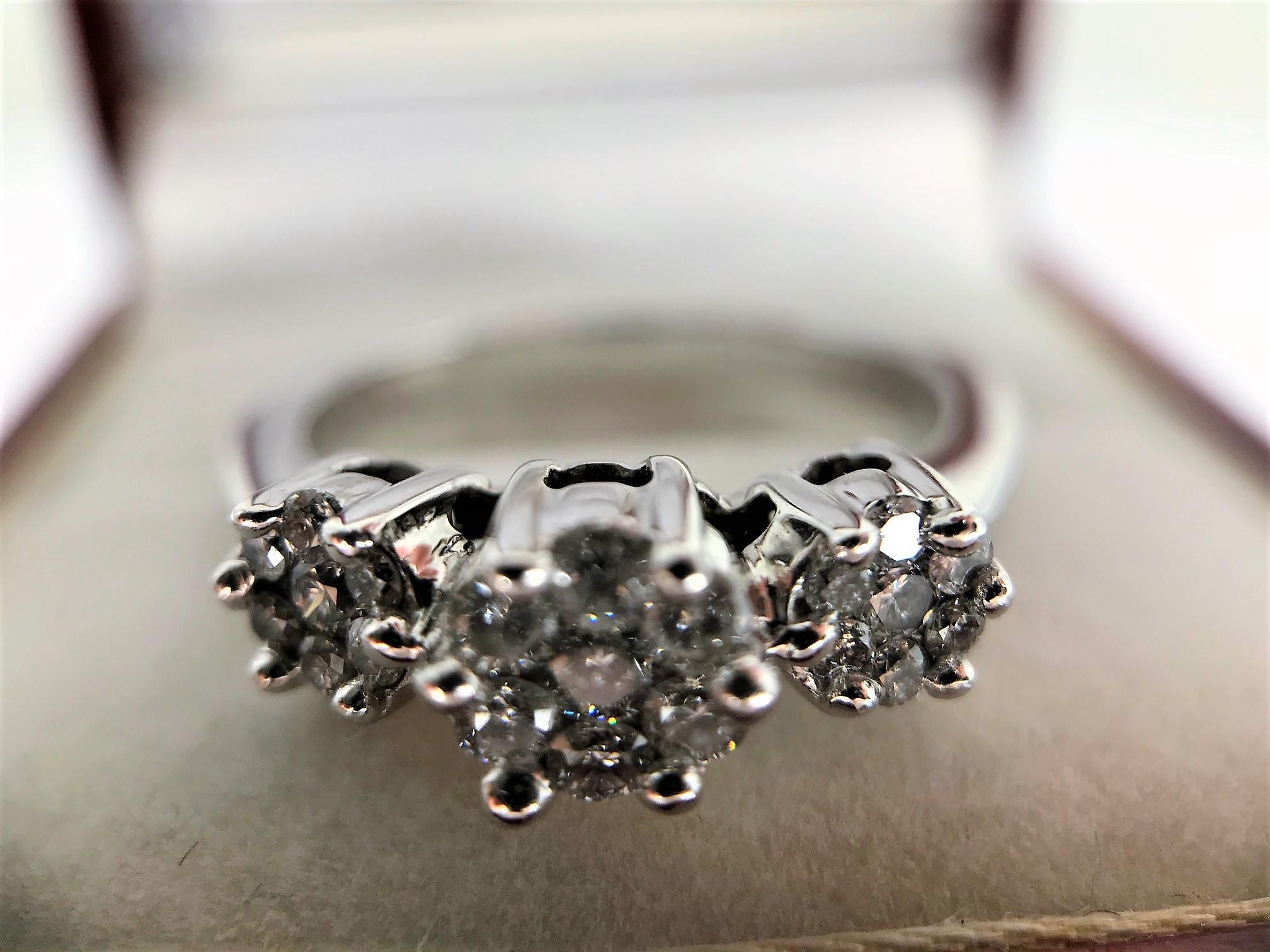 Trinity Diamond Ring - Image 2 of 4
