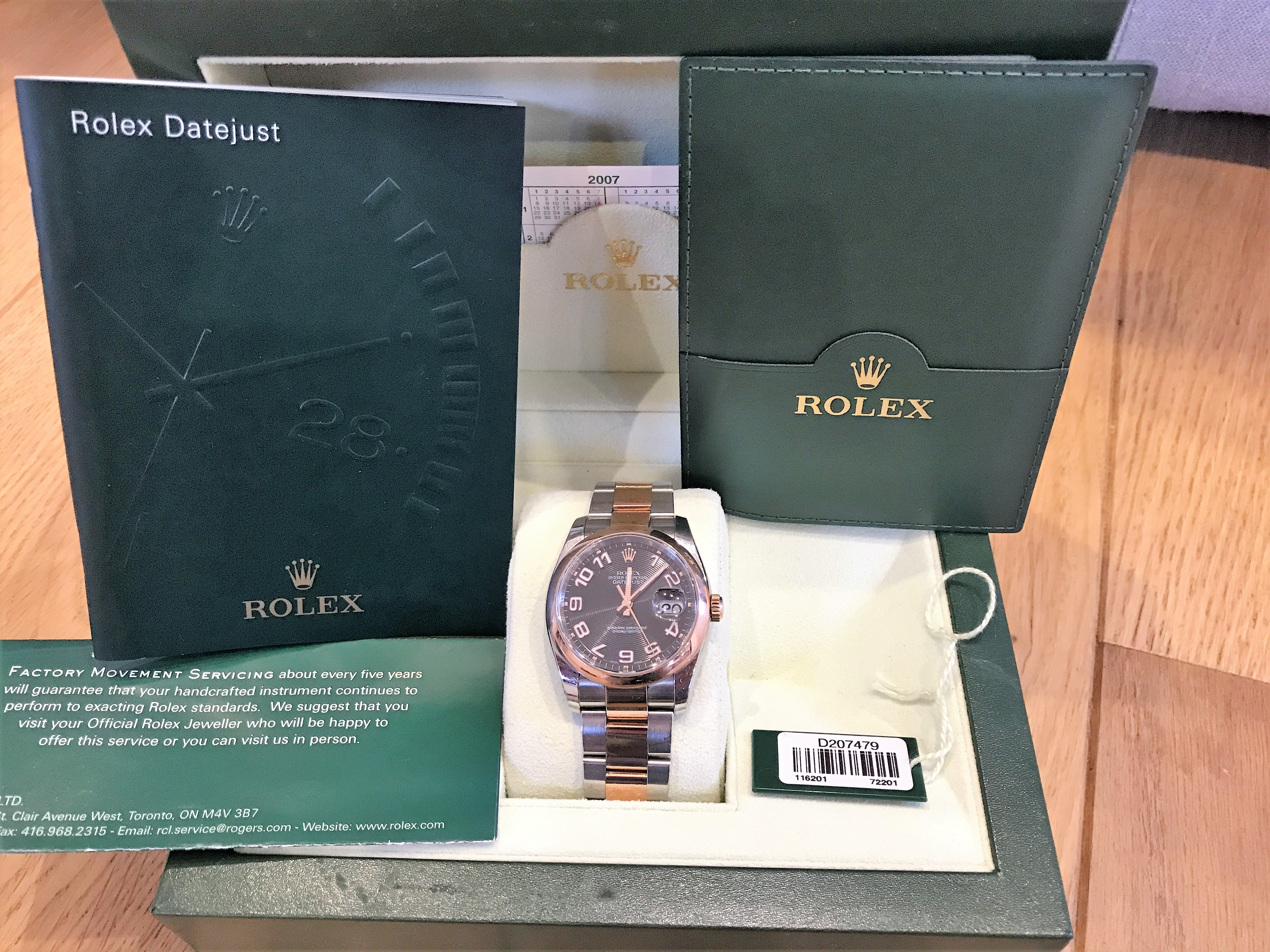 ROLEX 116201 ROSE GOLD AND STEEL - Image 2 of 9