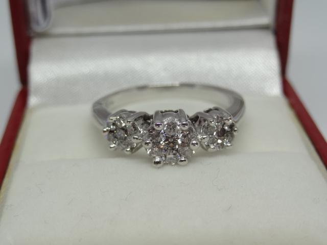 Trinity Diamond Ring - Image 4 of 4