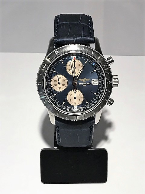 Breitling Chronomat 41mm, New Strap fusion Aquatic