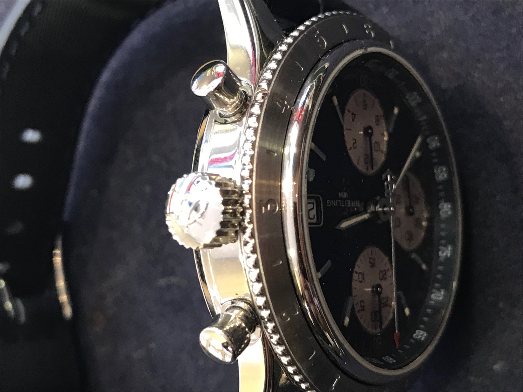 Breitling Chronomat 41mm, New Strap fusion Aquatic - Image 5 of 8