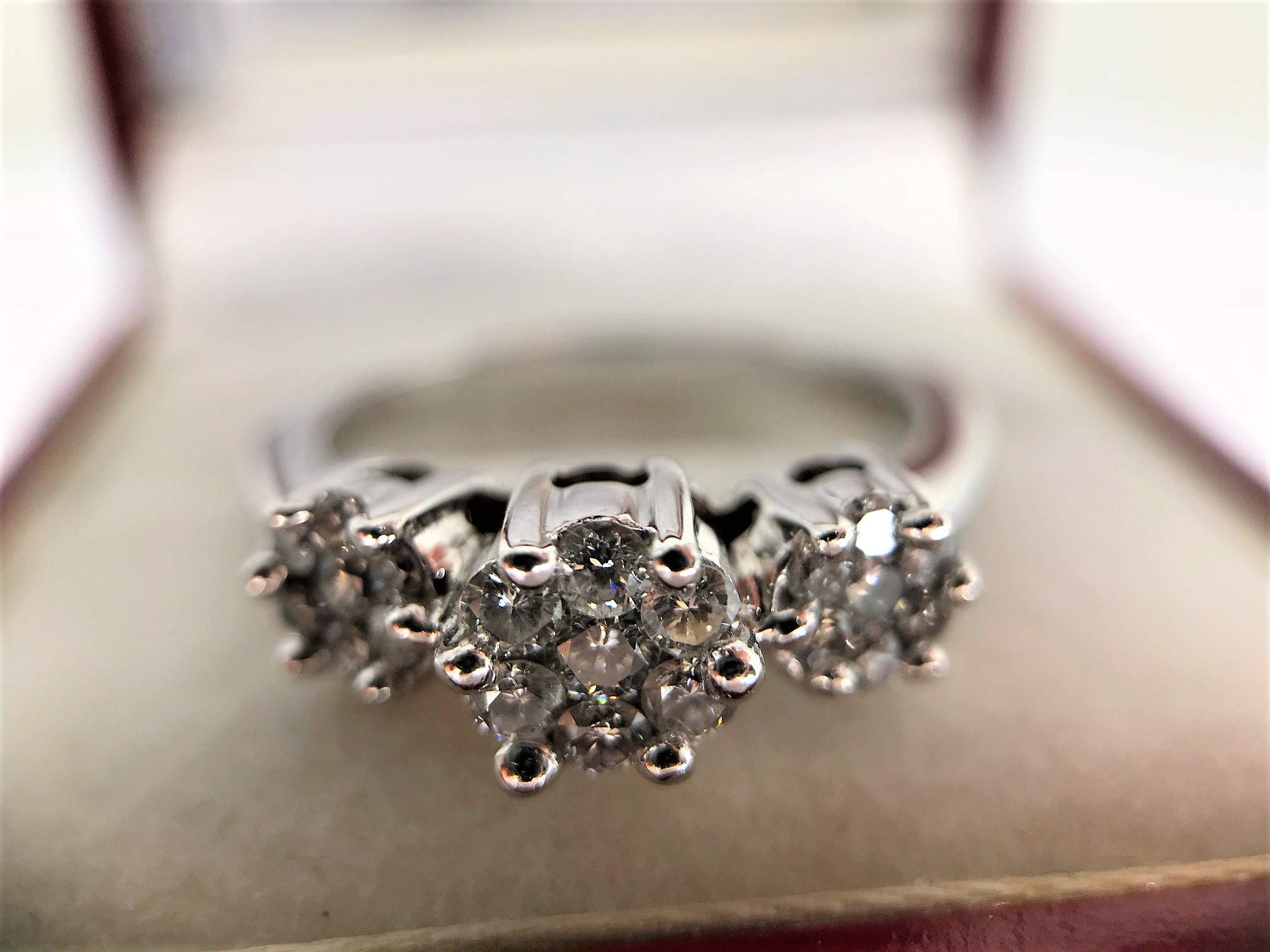 Lot 10 - Trinity Diamond Ring