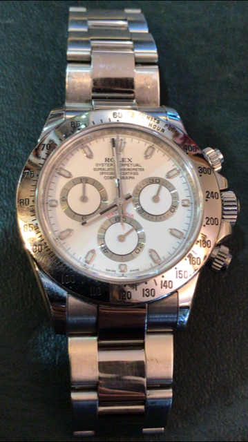 Lot 28 - Rolex Daytona 116520 stainless steel