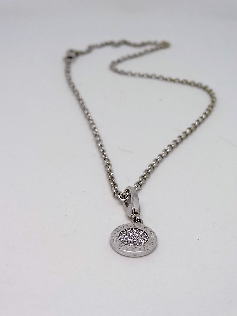 Authentic BVLGARI Necklace / Pendant with Box and papers - Image 3 of 7