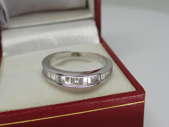 Semi Eternity Baguette Diamond Ring - Image 3 of 6