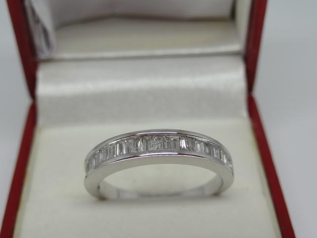 Semi Eternity Baguette Diamond Ring - Image 5 of 6