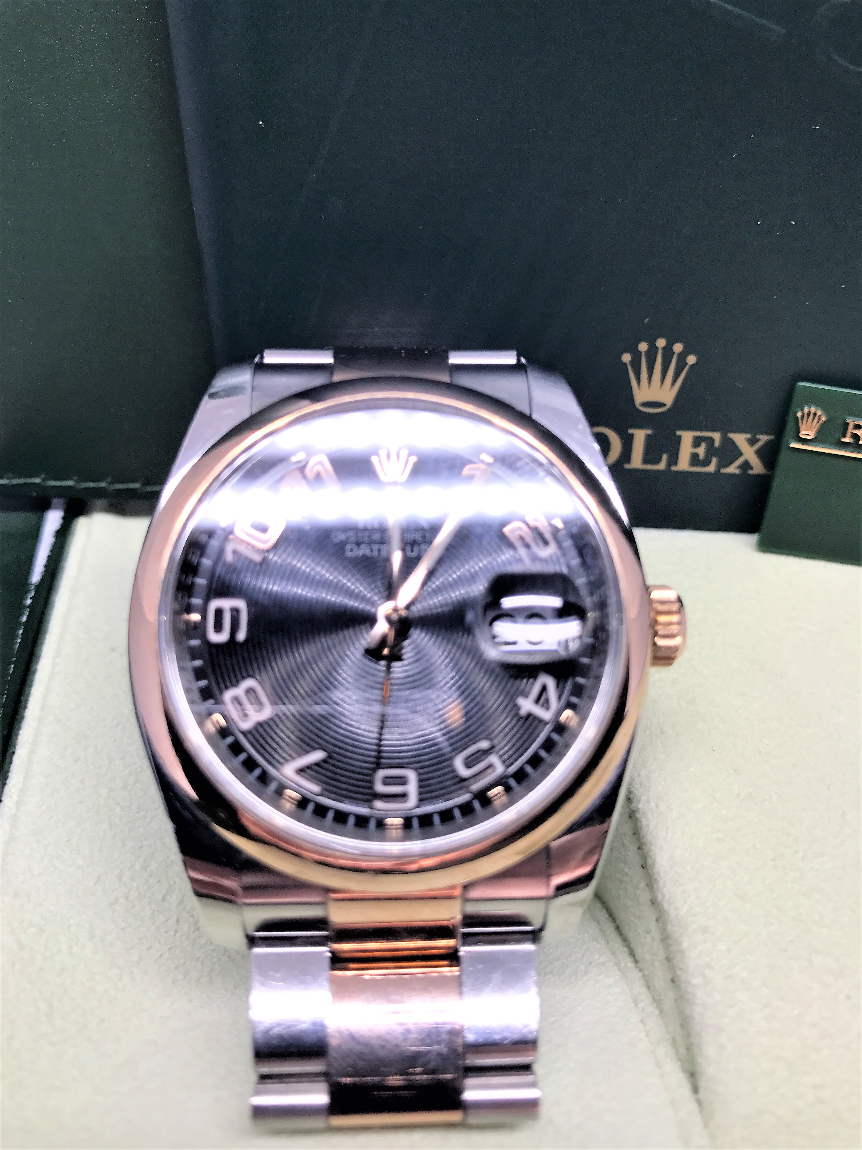 ROLEX 116201 ROSE GOLD AND STEEL - Image 3 of 9