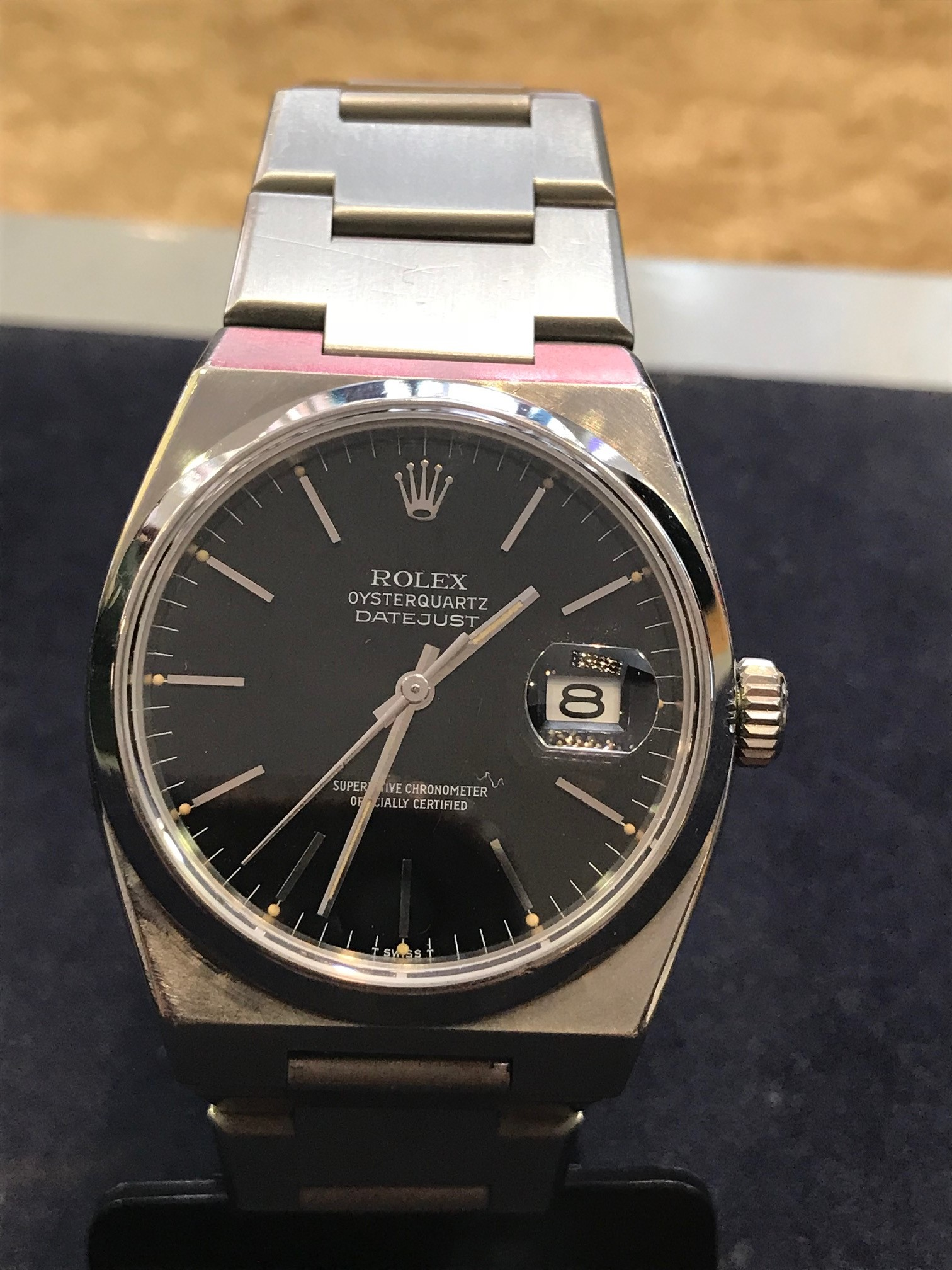 Rolex 17000 Oyster steel , 36mm Black Dial.