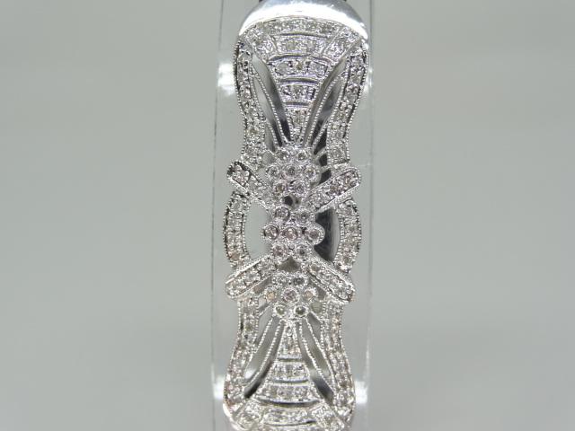 89 round brilliant cut diamonds Bangle - Image 3 of 5
