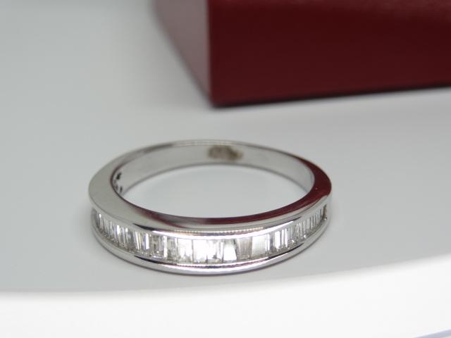 Semi Eternity Baguette Diamond Ring
