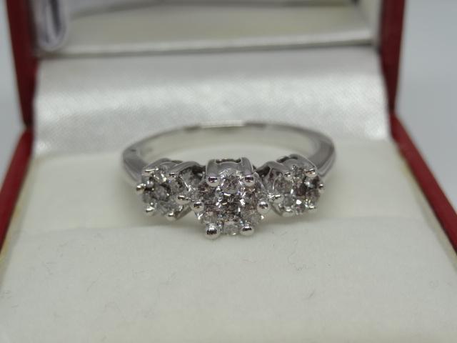Trinity Diamond Ring - Image 3 of 4