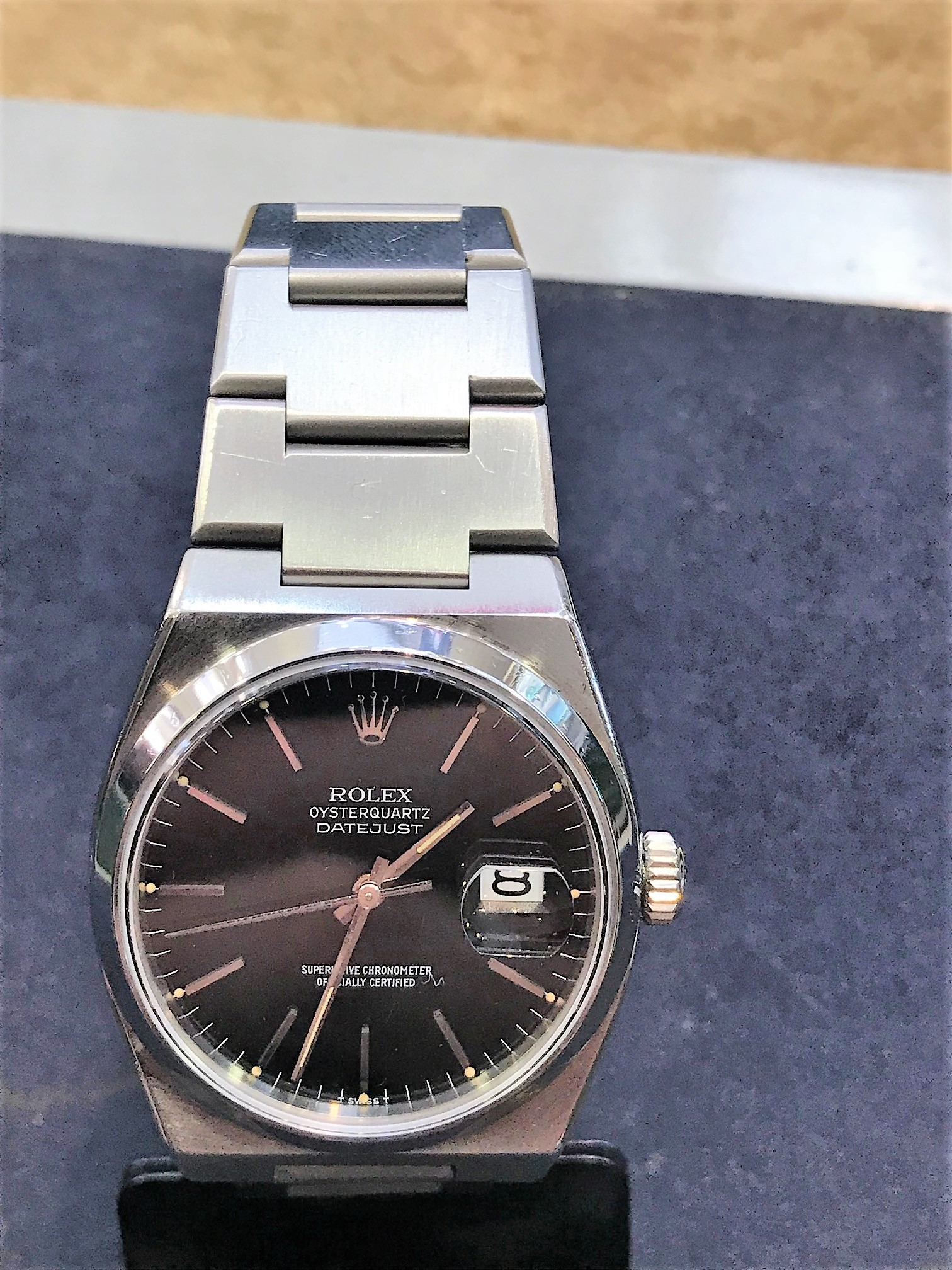 Rolex 17000 Oyster steel , 36mm Black Dial. - Image 3 of 8