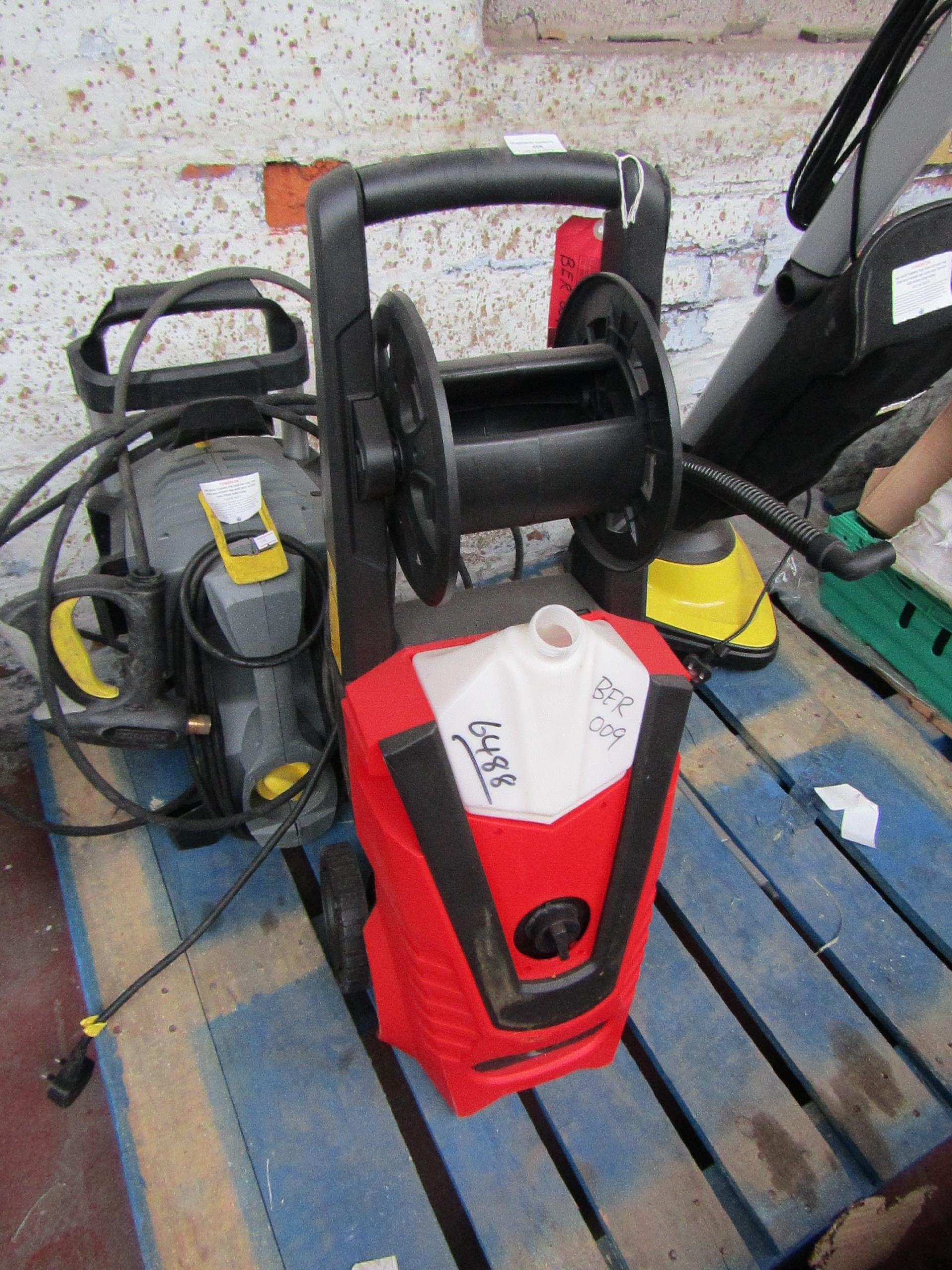 Lot 458 - Clarke Jet9500 pressure washer This lot is a Machine Mart product which is raw and completely