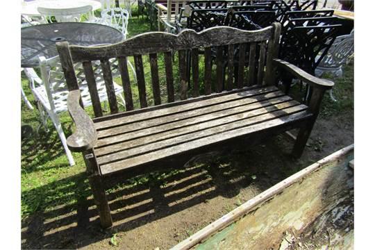 Prime A Pj Bridgman Co Ltd Weathered Iroko Three Seat Garden Ibusinesslaw Wood Chair Design Ideas Ibusinesslaworg