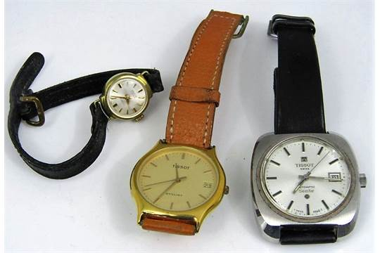 Two vintage Tissot watches to include a automatic Seastar