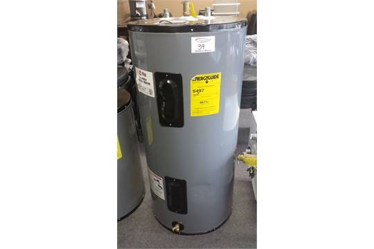 rheem 38 gallon electric water heater. rheem rudd commercial electric hot water heater - model eld40-b unused / minor dents in top 38 gallon