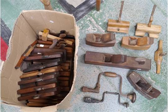 Cabinet Maker Tools Rebate Planes Various Makers Including Shields