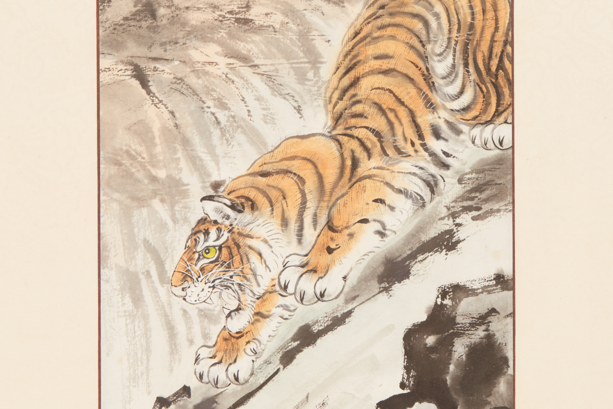 Lot 48 - CHEN FENG (CHINESE, 1906-1995) - TIGERS