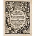 Galgemair (Georg) Organon logikon, Frankfurt, Johann Weh, 1654.