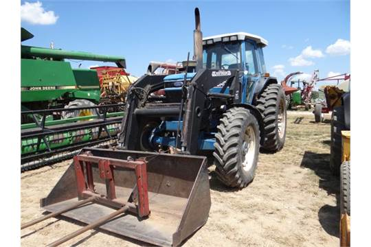 Ford 8630 Tractor, 1992 #3241, 10,500 hrs, MFWD, 150hp, CAH