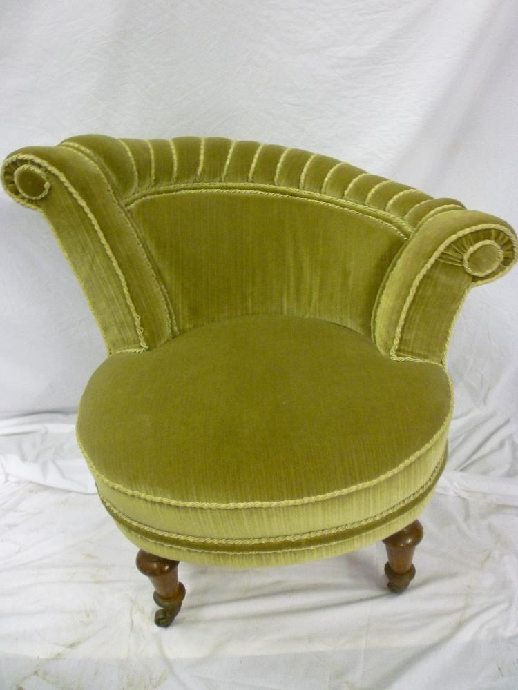 Lot 780   An Unusual Victorian Occasional Chair Up