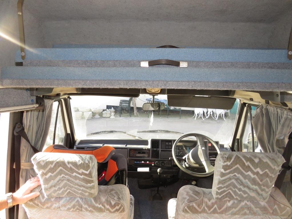 Lot 1 - WHITE TALBOT EXPRESS 1000P MOTORHOME, H52AJX REGISTERED 25/03/1991, 1971CC PETROL ENGINE AND