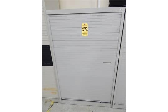 Roll Up Door Storage Cabinet