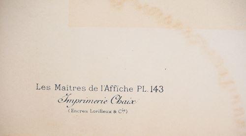 Los 20 - Manuel ROBBE (1872-1936) L'Éclatante Original lithograph in color on fine [...]