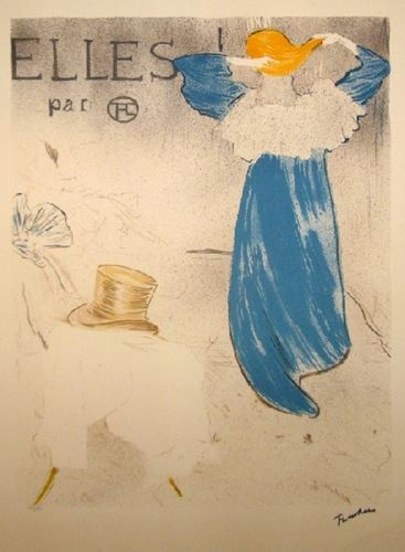 Los 8 - Henri de TOULOUSE-LAUTREC (after) They, 1977 Lithograph on Arches paper Stamped [...]