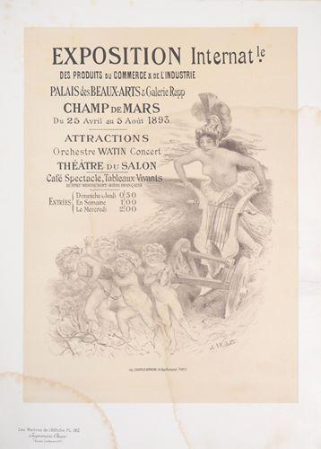 Los 25 - Adolphe WILLETTE Exposition internationale des produits du commerce et de [...]
