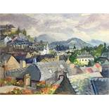 François BABOULET 1914-2010 Oloron Sainte-Marie Oil on canvas Stamp of estate on [...]