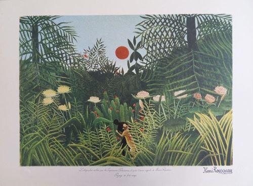Los 52 - Henri Rousseau (after) Lithograph made by the Imprimeries Parisiennes, after [...]