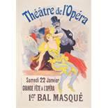 Jules Chéret Masquerade Ball (Théâtre de l'Opéra), 1897 Original colour [...]