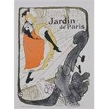 Toulouse Lautrec Jane Avril, circa 1896 Small size stine lithograph poster. This [...]