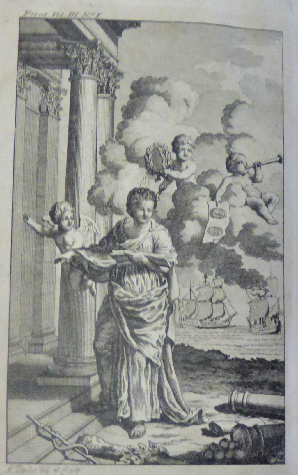 Lot 31 - Smith H Town and County 1771 printed Hamilton London Vol III with engravings fair condition