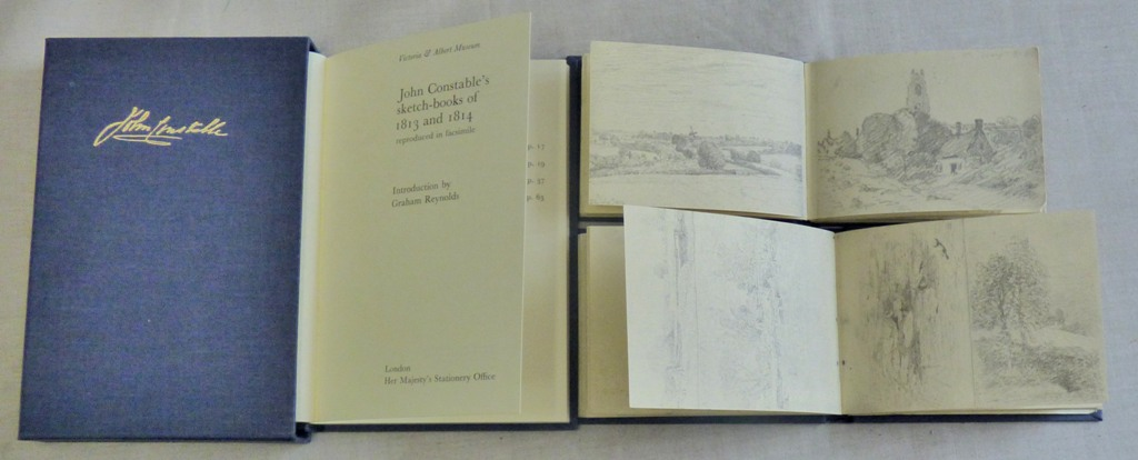Lot 52 - Art Book - A delightful Presentation pack of (2) sketch books-beautiful sketch pictures and a
