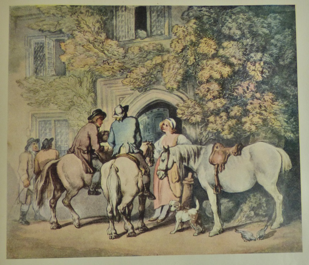 Lot 55 - Art Book - hardback - beautiful presented book, Thomas Rowlandson 'His Life and Art' fully