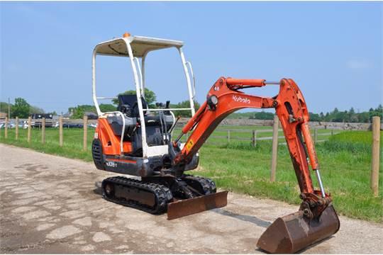 KUBOTA KX36-3 y2010 CANOPY Mini Excavator / Digger, 3 cyl