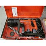 Hilti Model TE72 Hammer