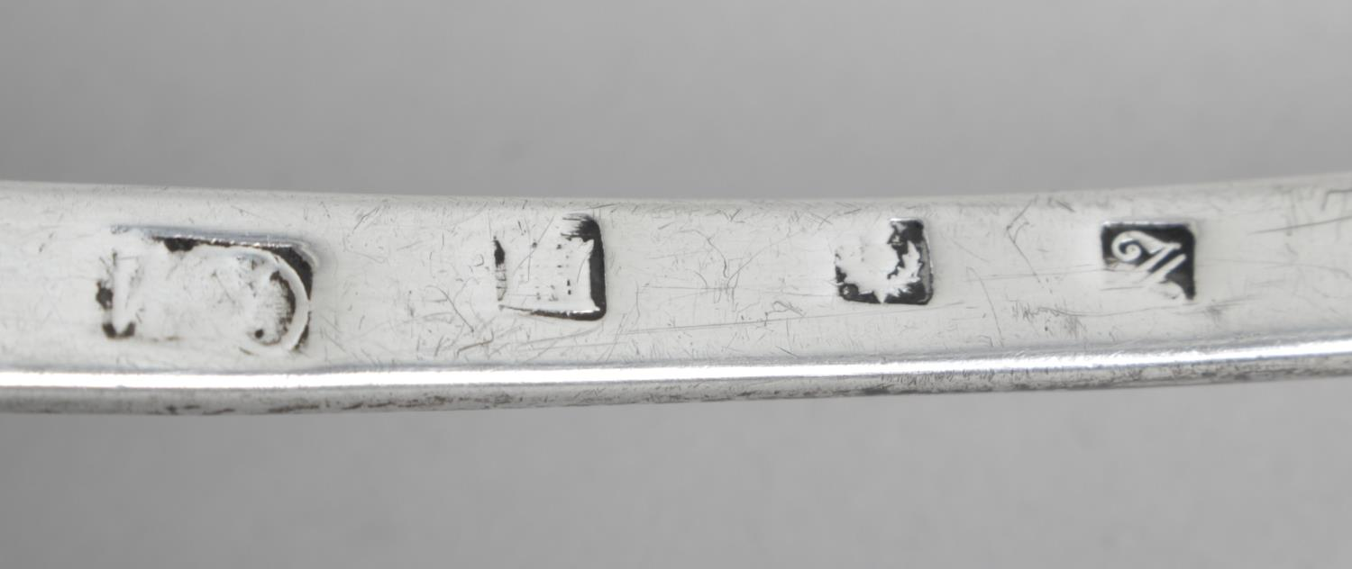 Lot 78 - A George III Scottish silver soup ladle,