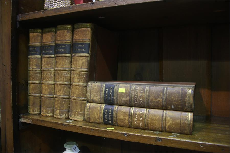Lot 25 - Six volumes English encyclopaedia