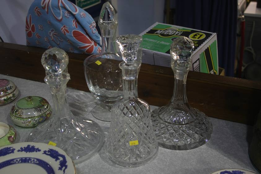 Lot 38 - Four decanters