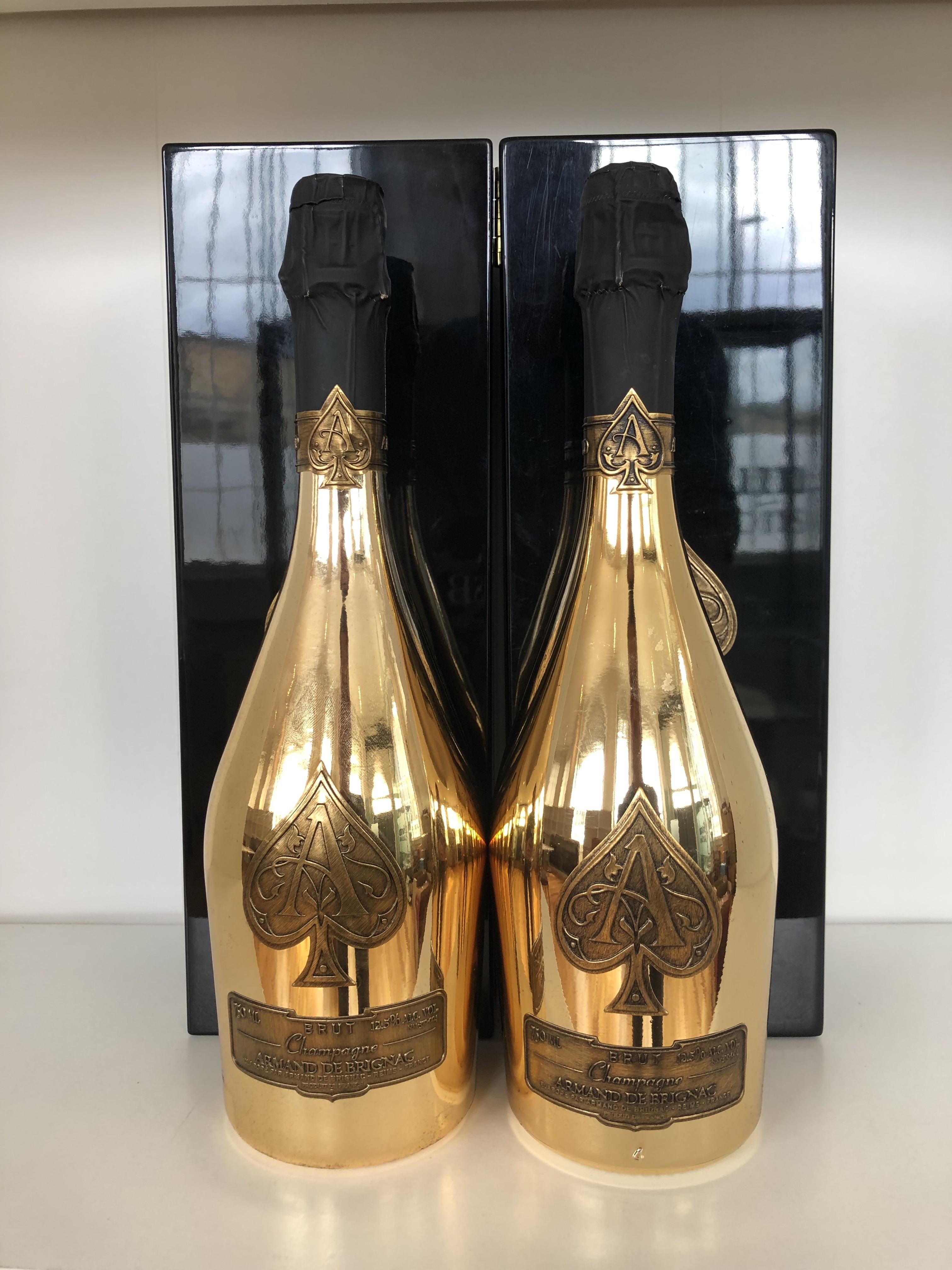 Lot 32 - NV Ace of Spades, Armand de Brignac, Champagne, France, 2 bottles