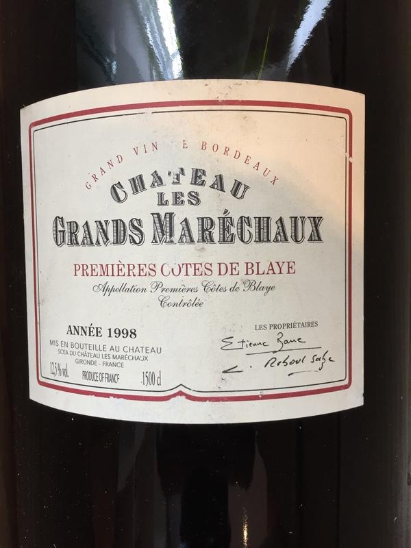 Lot 45 - 1998 Grands Marechaux, Medoc, Bordeaux, France, 1 magnum