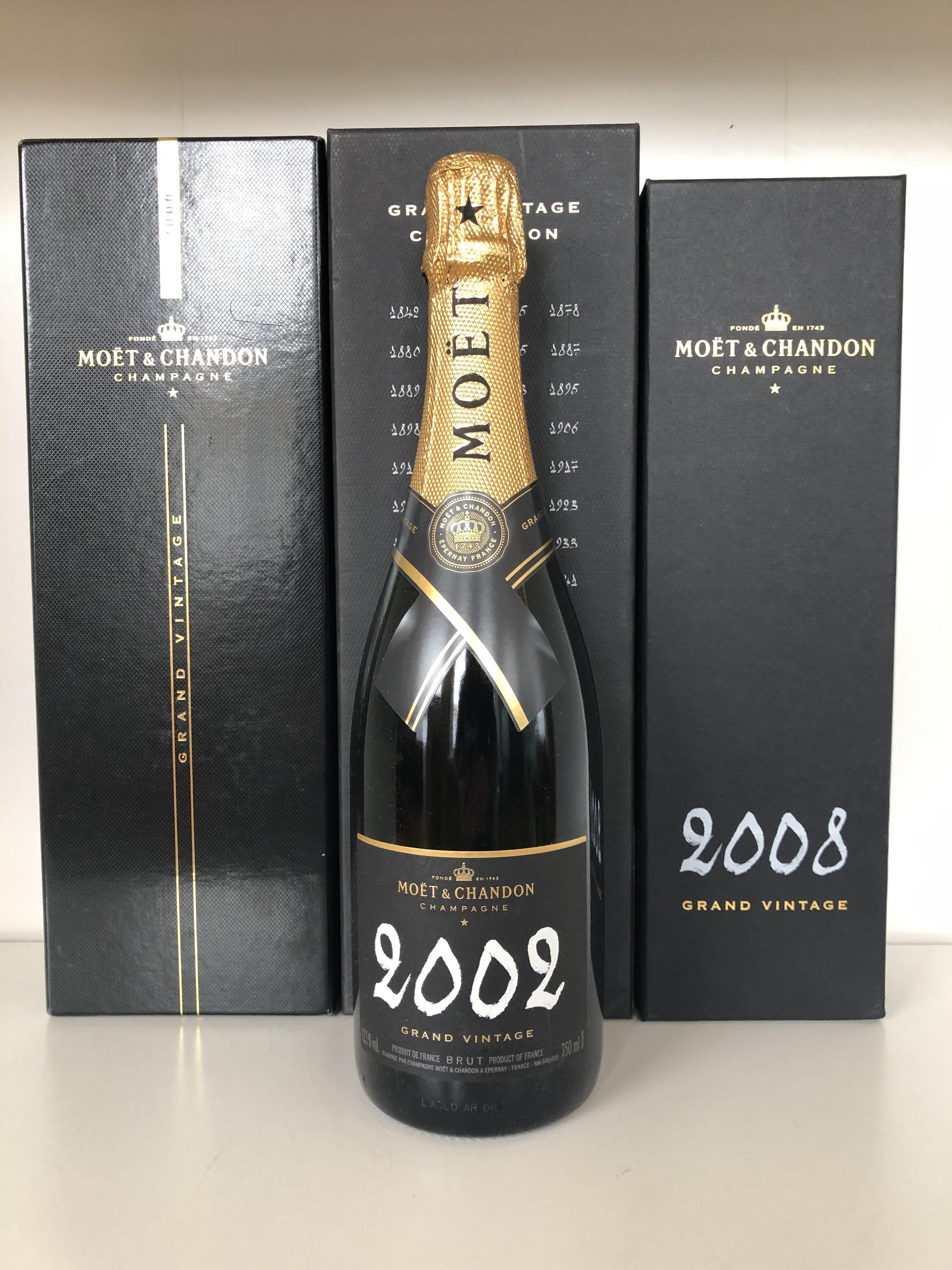 Lot 19 - Various Moet et Chandon Grand Vintage Tasting Lot, Champagne, France, 3 bottles